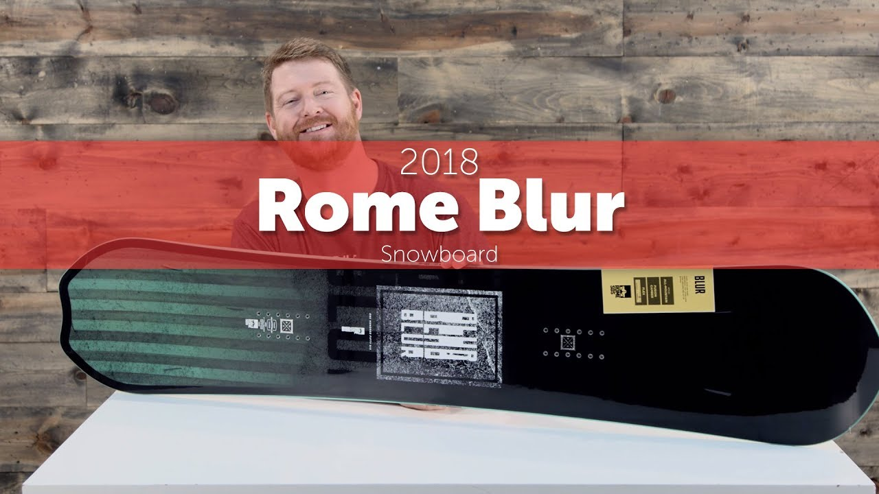 2018 Rome Blur Snowboard - Review - YouTube
