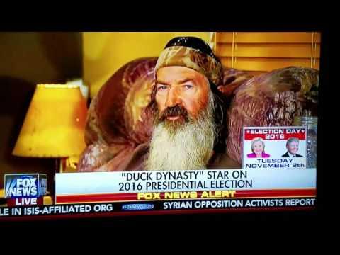 PHIL ROBINSON DEFENDS TRUMP ON FOX NEWS