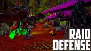 DESTROYING THE FOB | DEFENSE OF OFFICIAL 617 | Ark: Survival Evolved