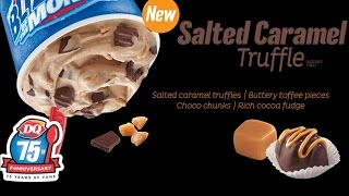 CarBS - Dairy Queen Salted Caramel Truffle Blizzard