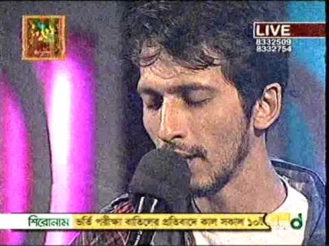 Arnob-Majhe Majhe (Rabindra Sangeet) Live @ Desh Tv : Close Up Call er Gaan