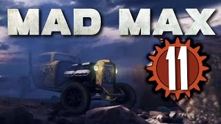 Mad Max #11 - RED EYED ZOMBIES - PS4 live