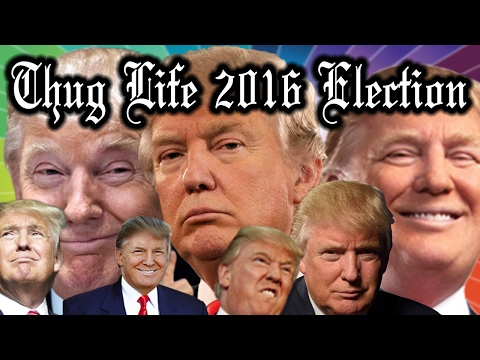 BIG LEAGUE Donald Trump 2016 Presidential Election Thug Life Compilation [BEST]