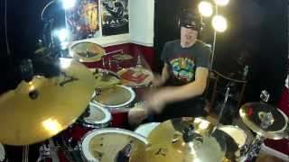 Cinema - Skrillex Drum Cover Remix - BLINDFOLDED (1080p HD) - Benny Benassi