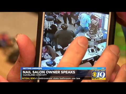 Cleveland Nail Salon Fight Goes Viral, Owner Speaks Out