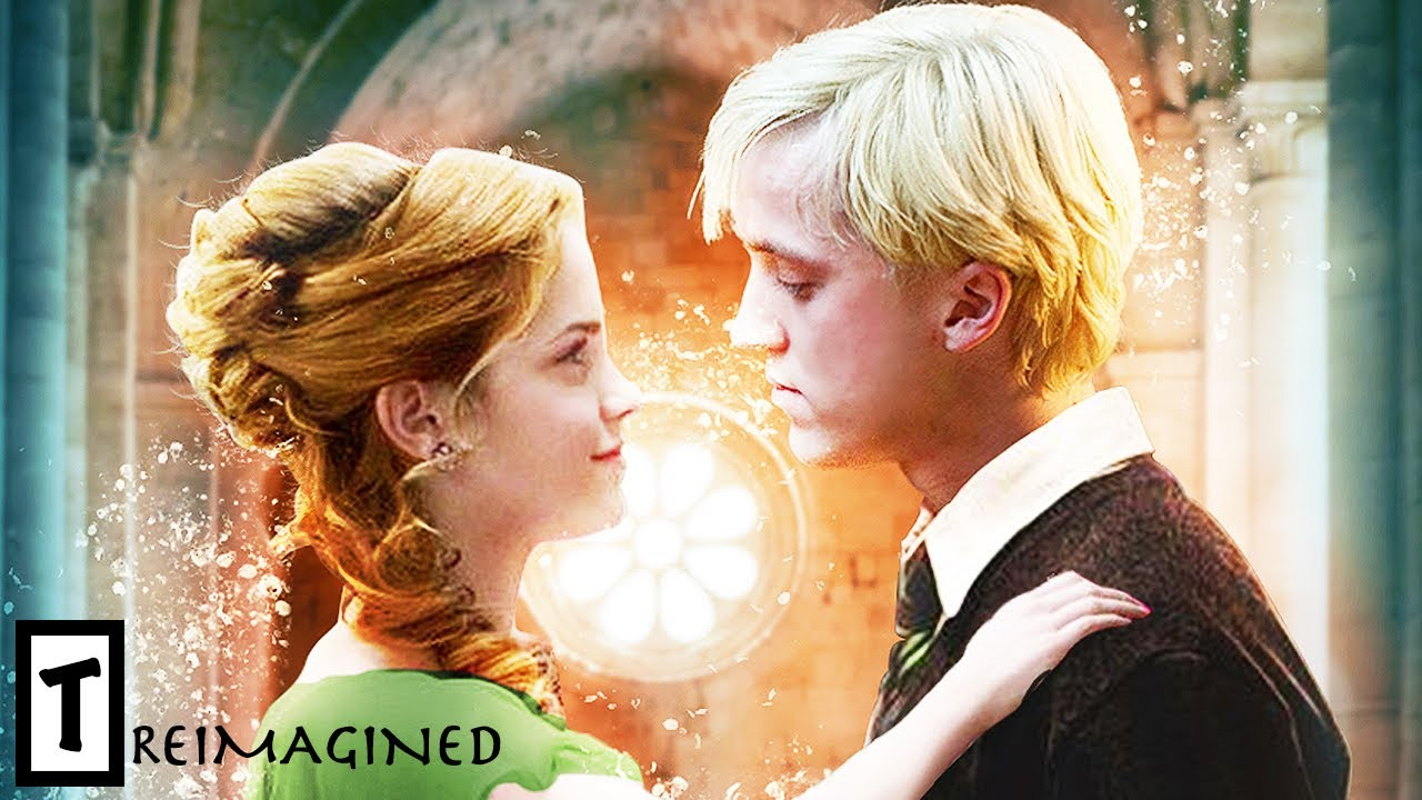 What If Hermione And Draco Malfoy Got Together Instead Youtube