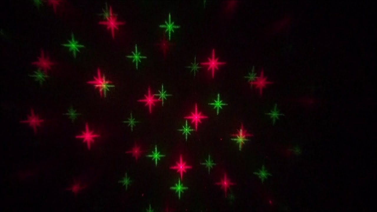 Star shower motion laser light projector a closer look youtube for Star shower motion m6