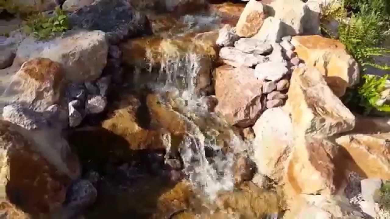 Ein wasserfall im japan garten youtube - Wasserfall garten ...
