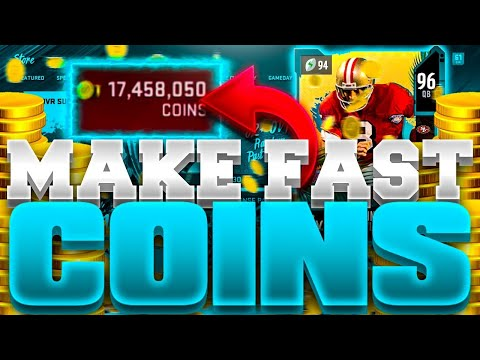 FAST NEW COIN MAKING METHOD IN MADDEN 20!!   ULTIMATE GUIDE TO MAKE QUICK COINS IN MADDEN 20!!