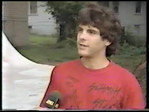 Delong's Ramp On The Local News - Knoxville, TN - 1987