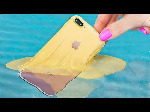 11 Totally Cool DIY Phone Cases / Brilliant Phone Hacks