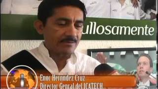 TVS Chiapas.- ICATECH inaugura centros de capacitación móvil en los municipios de tila y parral.