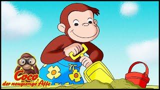 Coco der Neugierige Affe Deutsch 🐵Ein Schneemann im Sommer 🐵Ganze Folgen🐵Cartoons für Kinder