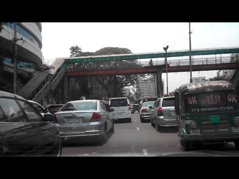 Dhaka City, Traffic Law and Order.