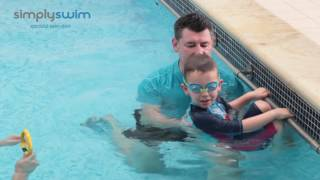 How to Teach your Child (aged 2-5 years) to Swim - Turning in a Pool