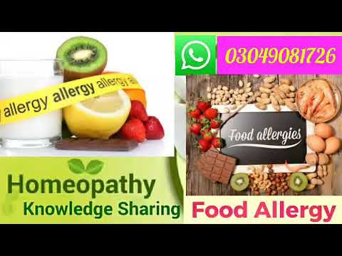 Food Allergy | How To Get Rid Of Food Allergies With Homeopathic medicine
