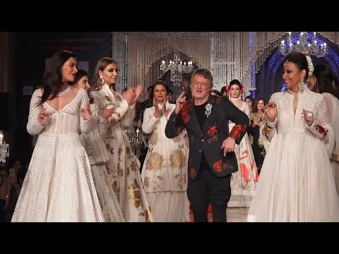 Designer Rohit Bal presents show at  Breakthrough India's event