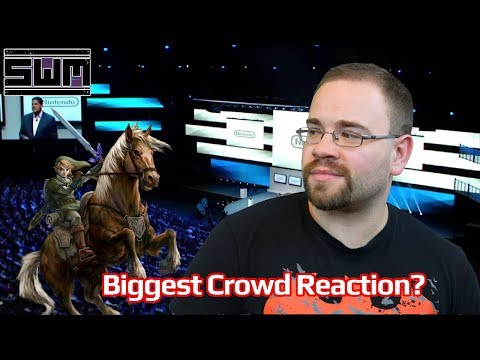 E3 Nintendo 2004! The Biggest Crowd Reaction Ever!