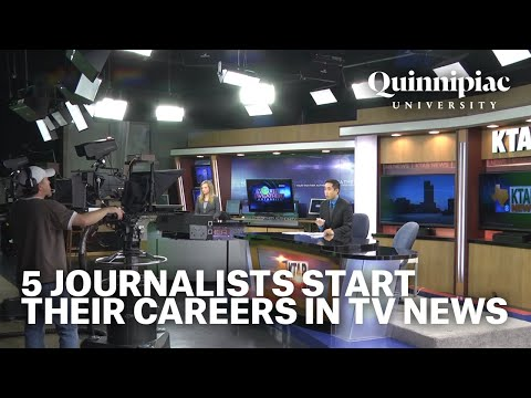 Small Markets, Big Dreams: 5 journalists start their careers in TV news (TRT 57:18)