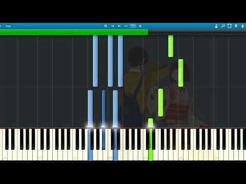 [Synthesia] Kaai Yuki - Ikanaide/いかないで/Don't Go (Solo Piano) [Vocaloid]