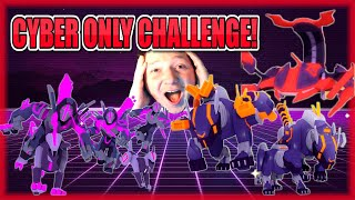CYBER TOWERS ONLY!! FINAL SEASON 1 CHALLENGE!!😱WORLD DEFENDERS!