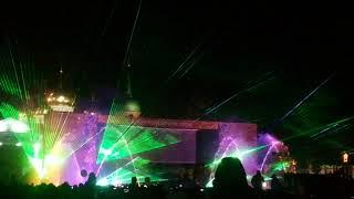 Лазерное шоу. Тула 871 - День Города