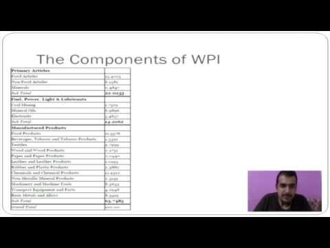 What is Inflation, CPI and WPI? - Professor Vipin