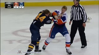 Scott Mayfield vs Nicolas Deslauriers Apr 13, 2014