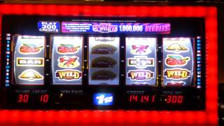 Kickapoo casino,  1million degrees slot, Win! :)
