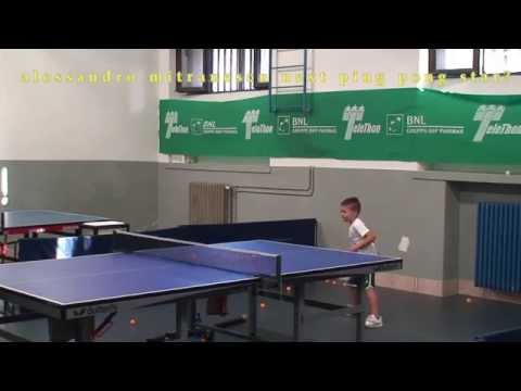 alessandro mitranescu 6 years 8 month.NEXT TABLE TENNIS STAR?