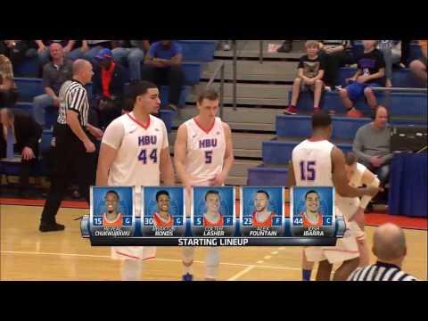 Men's Basketball - UCA 89, HBU 78 (Full Game Replay)