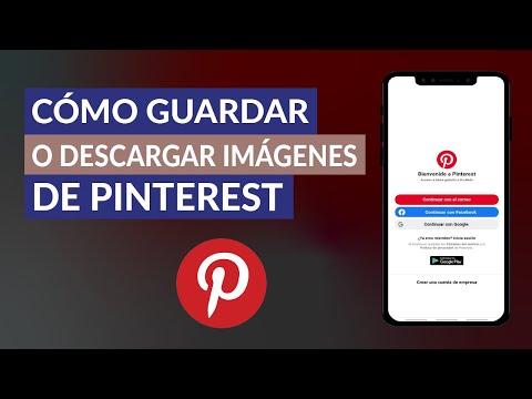 Cómo Guardar o Descargar Imágenes de Pinterest Desde Celular o PC