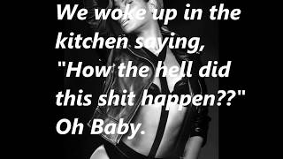 beyonce ft jay z drunk in love official lyrics