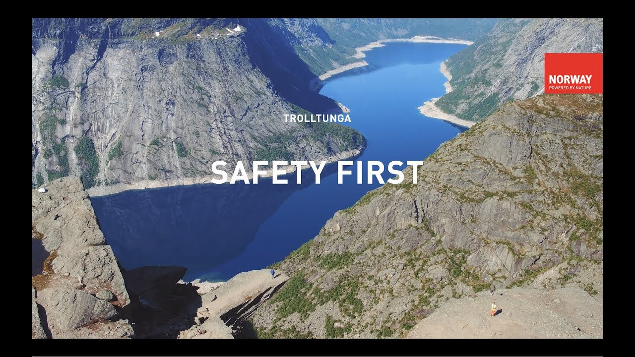 Safety first: Trolltunga