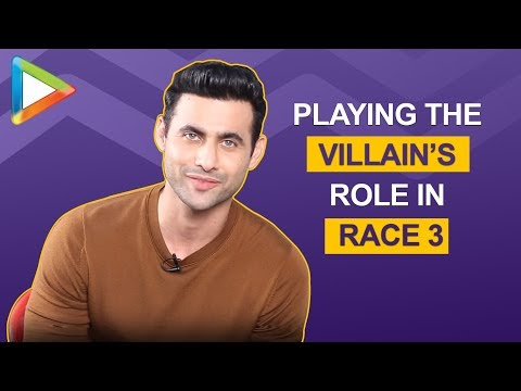 Freddy Daruwala talks about playing the VILLAIN's role in RACE 3