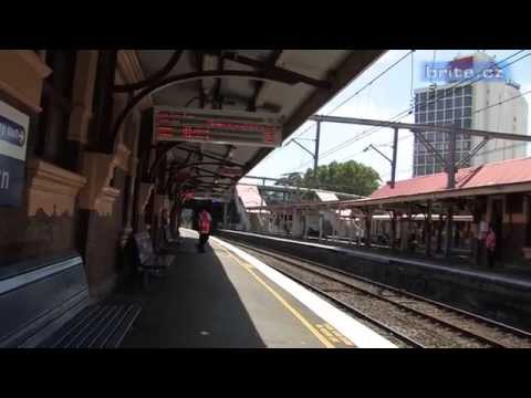 Train Station Historical Announcements from 2008, Sydney, Australia