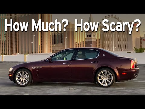 Bought A Cheap Maserati Quattroporte - Big Sedan Challenge | Everyday Driver