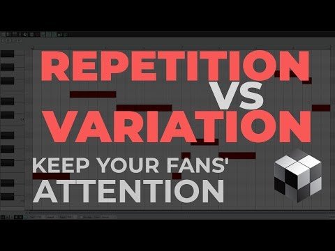 How to Write a Riff or Bass Line - REPETITION vs VARIATION