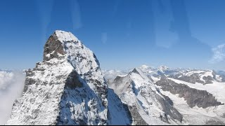 Le Alpi viste dal cielo