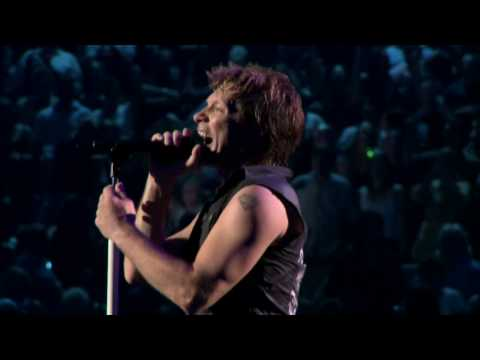Bon Jovi:(Blaze Of Glory & It's My Life)Live at Madison Square Garden (2008)HD