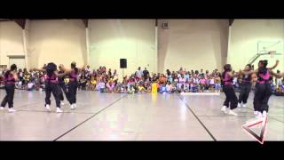 Holly Springs Mississippi hot steppers team 2 opens up for Dancing Dolls For Life DD4L
