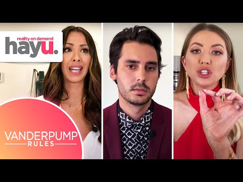 Kristen & Max SLEPT Together And Stassi Is FURIOUS! | Season 8 Reunion Pt. 1 | Vanderpump Rules