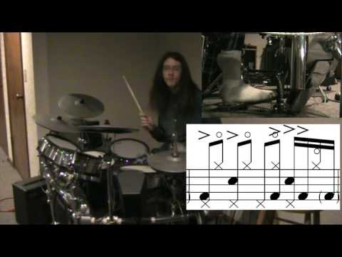 Red Hot Chili Peppers Funky Monks Exact Transcription Drum Cover