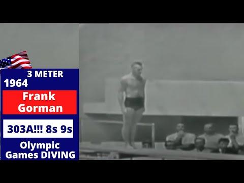 1964 Frank Gorman USA -  303A - 3m  8 & 9s