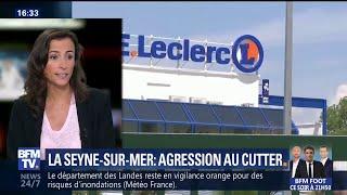 La Seyne-sur-Mer: que sait-on de l'agression au cutter dans un supermarché?