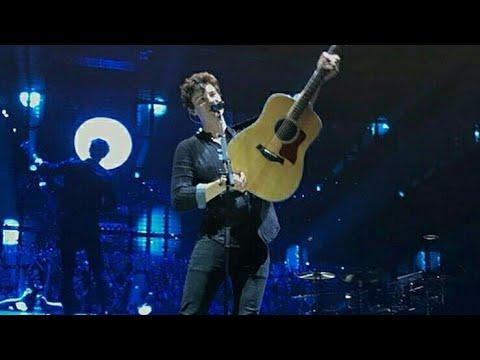 Shawn Mendes Performing At Brisbane Australia