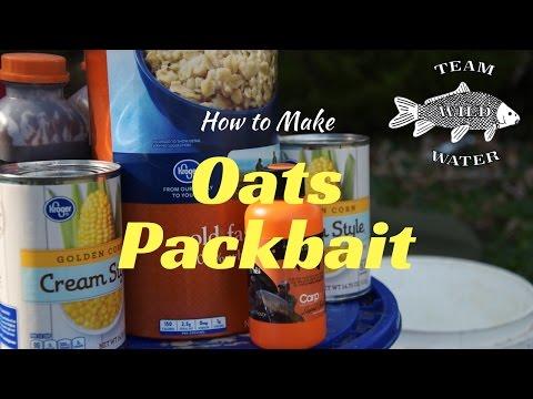 How To Make Carp Bait With Oats/Oatmeal