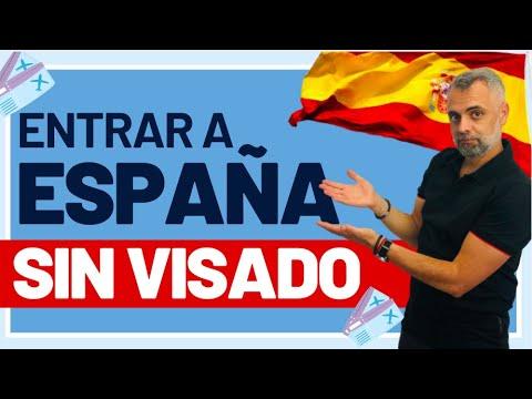 La entrada a España sin visado: requisitos