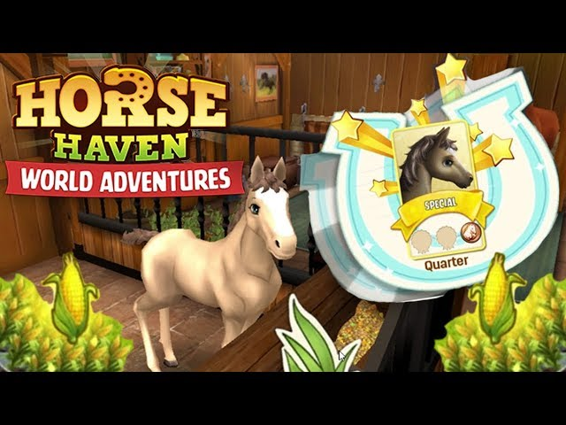 Horse Haven | Episode 1 Starting - Raising Two Foals! Horse Haven: World Adventures