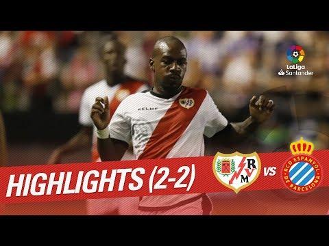 Resumen de Rayo Vallecano vs RCD Espanyol (2-2)